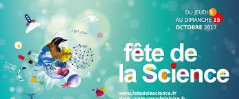 Fête de la Science 14/15 octobre